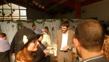 mariage champêtre animé en magie