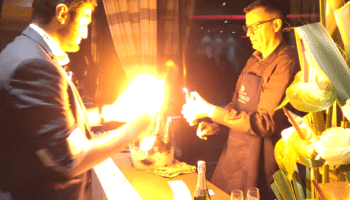 Thierry BOUCHET Champagne de Venogoe avec mathieu magicien