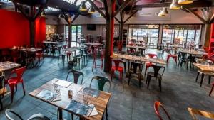 salle de restaurant la La Fabryk lyon 8eme