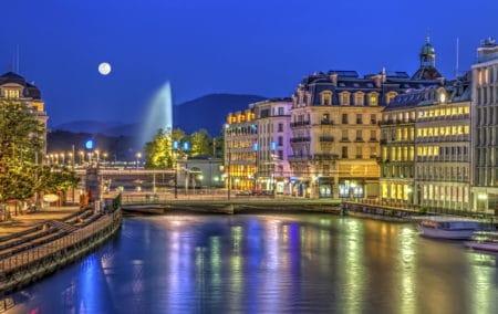 Magicien à Genève, en Suisse