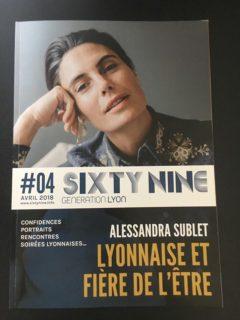Confidences dans le magazine SIXT NINE Génération Lyon