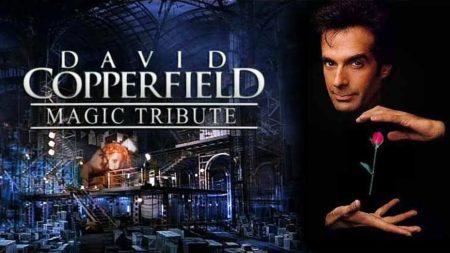 affiche spectacle david copperfield il a révolutionner la magie