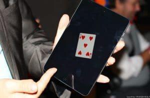 magie ipad digital magicien lyon