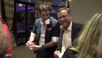 Magicien Rhône Alpes mentaliste lyon assemblée générale crédit mutuel