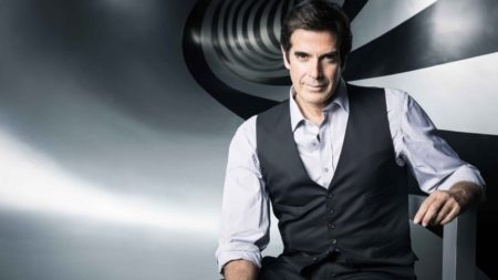 David Copperfield, le plus grand magicien du monde