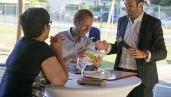magicien mentaliste pour un lancement de produit à Lyon Paris Geneve