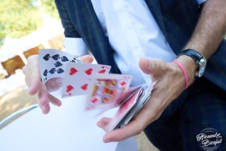 Magicien mentaliste pour un mariage