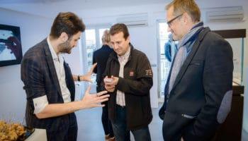 Magicien mentaliste inauguration d'entreprise Geneve Lyon Paris