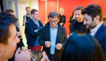 Magicien mentaliste inauguration d'entreprise Paris Lyon Geneve