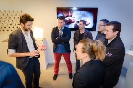 Animation de stand magicien à Lyon Geneve Paris marseille