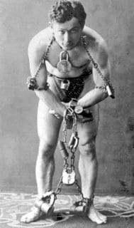 Harry Houdini Magiciens célèbres