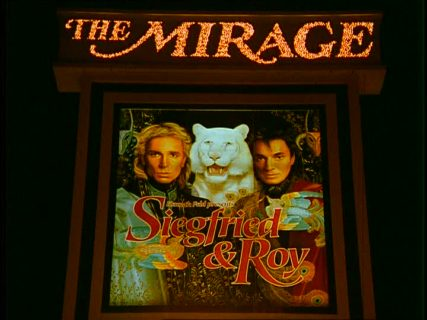 Siegfried & Roy duo de magiciens The mirage