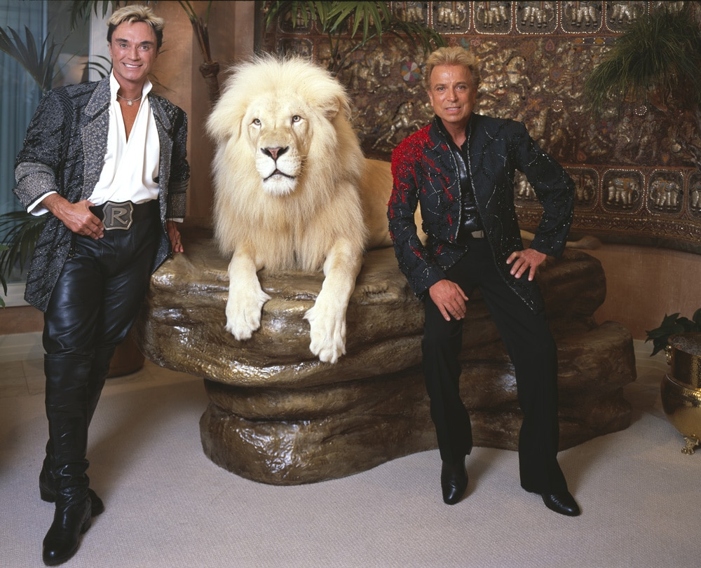 Siegfried & Roy duo de magiciens